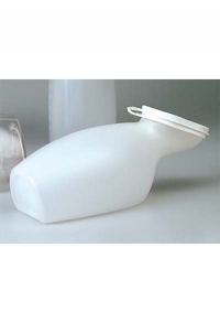Kurzhals-Urinflasche für Frauen aus PP