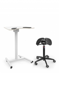 Salli Nature Twin / Swing inkl. Salli Small Desk