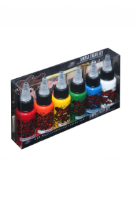 Basic World Famous Tattoo Ink Set