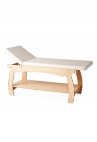 Massageliege aus Holz nature